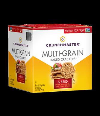 6-Seed Multi-Grain Crackers image