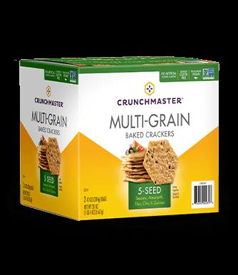 5-Seed Multi-Grain Crackers image