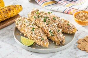 Crunchy Garlic Mexican Elote Recipe