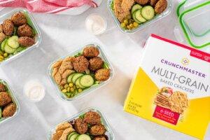 Falafel Lunch Box Recipe