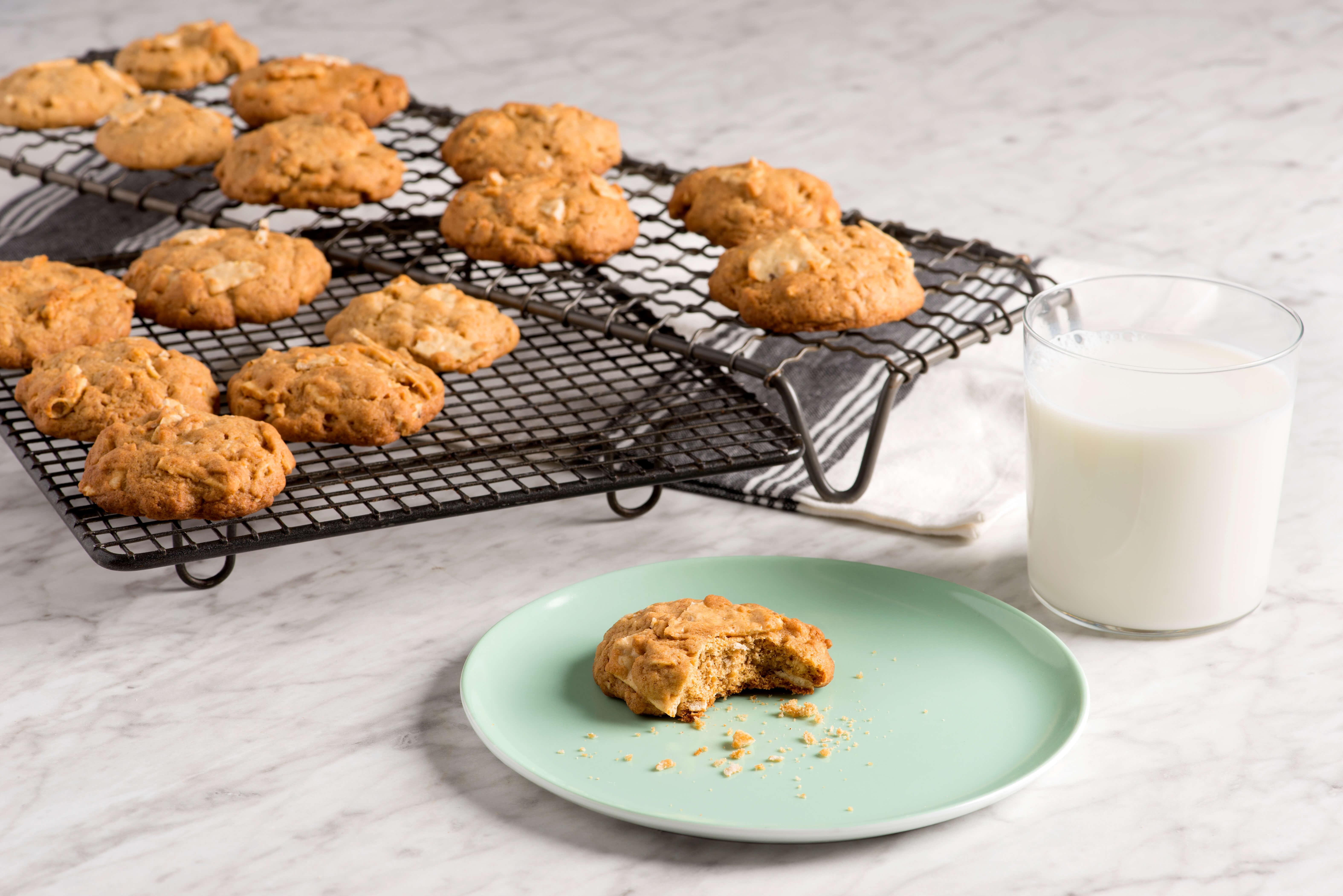 ingredients - Kitchen Sink Cookies