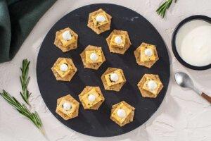 Rosemary Roasted Tofu Bites with Zesty Aioli Recipe
