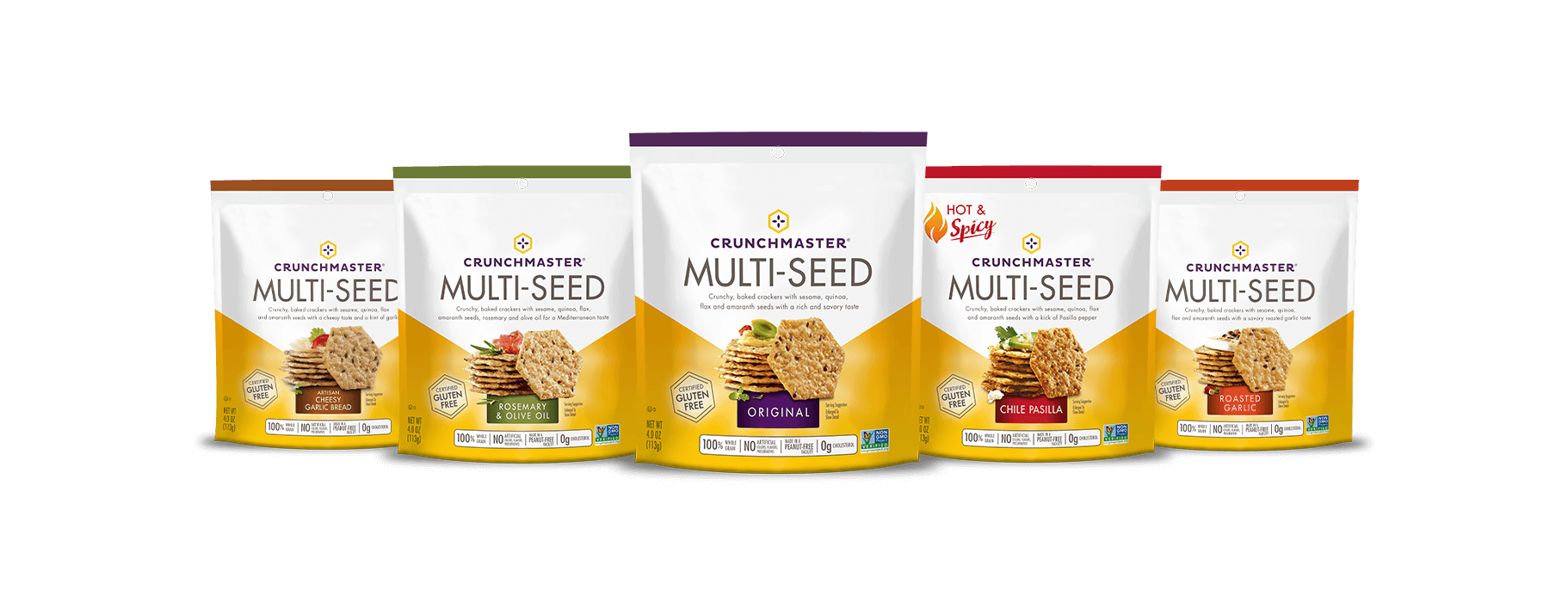 Multi-Seed Crackers - Crunchmaster