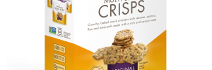 Crunchmaster Multi-Grain Crisps in Original flavor in box.